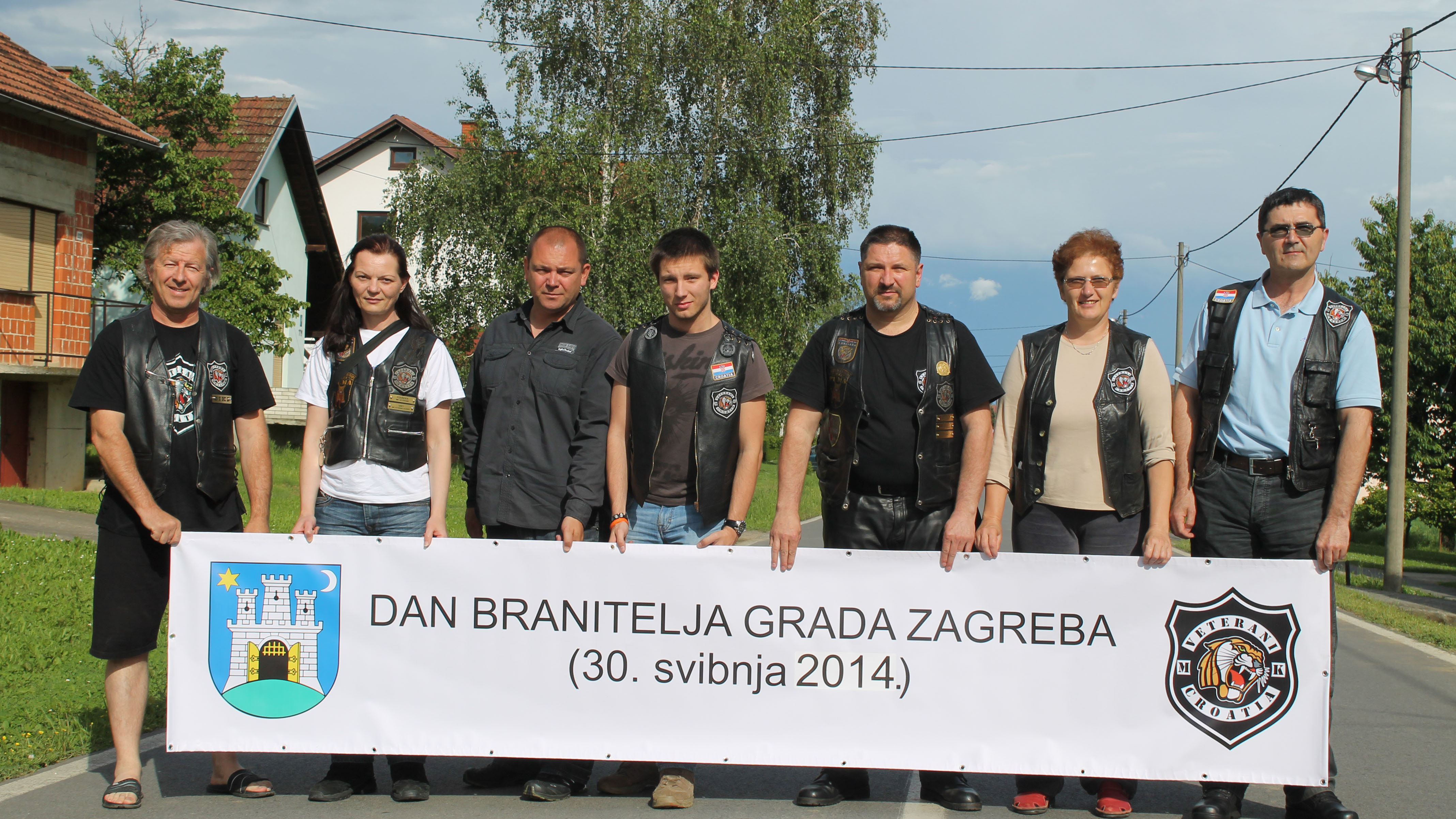 "Moto defile ""Jaši za braću"" (""Ride for the Brothers"") - Zagreb `14"