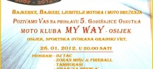 Winter party MK MY Way - Osijek