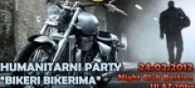 """Bikeri bikerima"" - Humanitarni party - Bastion `13"