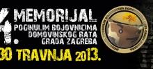 14. Memorijal poginulim bojovnicima Domovinskog rata Grada Zagreba `13
