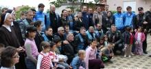 Veterani-bikeri i Vatreni zajedno u Kući sv. Tereze od Malog Isusa - Zagreb `13