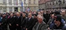 Prosvjed na Markovom trgu - Zagreb `13