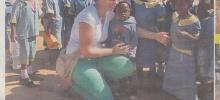 Humani bikeri pomažu siromašnom Devidu Metodiju iz Afrike (Magazin Oluja) Humanitarna akcija `13