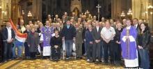 Hrvatski branitelji na korizmenom susretu u Katedrali `14