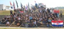 """Moto defile """"Ponos ratnih veterana"""" (""""Pride war veterans"""") - Knin `15"""